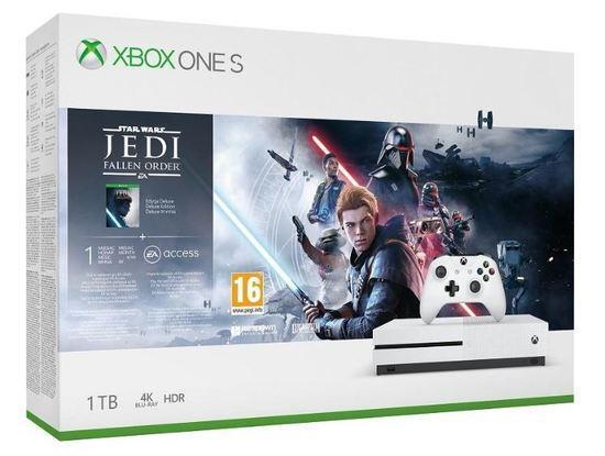 XBOX ONE S 1 TB + Star Wars: Fallen Jedi Order