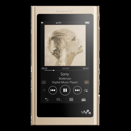 Sony MP4 16GB NW-A55L, zlatý