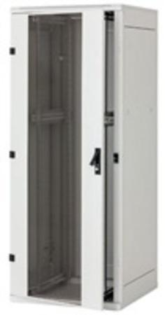 """Triton 19"""" rozvaděč stojanový 27U/600x1000, skleněné dveře"""