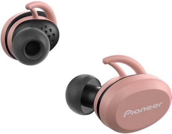 Pioneer SE-E8TW - P bezdrátová sportovní sluchátka do uší - růžová