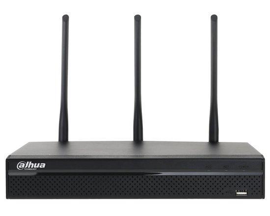 DAHUA NVR rekordér 4xIP 5Mpix/ H.264/ 1xHDD/ HDMI+VGA/ ONVIF/ CZ SW a menu/ WIFI 2.4+5GHz, NVR4104HS-W-S2