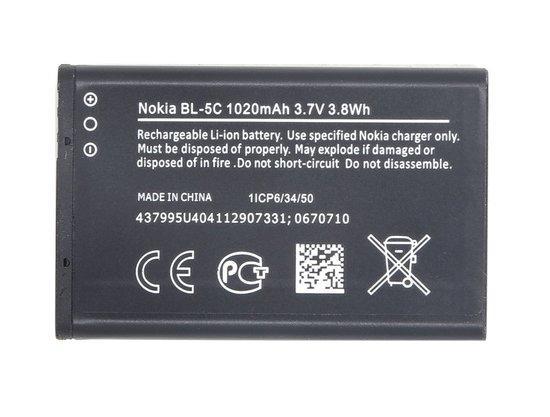Baterie Nokia BL-5C 1020 mAh Li-Ion (Bulk)