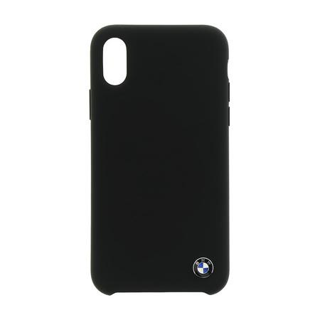 BMHCPXSILBK BMW TPU Silicone Case Black pro iPhone XXS