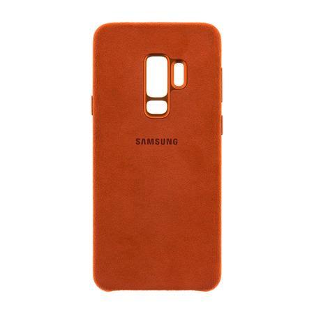 Samsung EF-XG965AR Alcantara Cover Galaxy S9+, Red