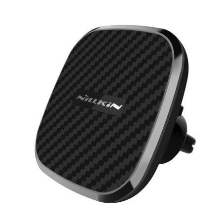 Nillkin Clip-On magnetický držák auta s 10W bezdrátovým dobíjením černý