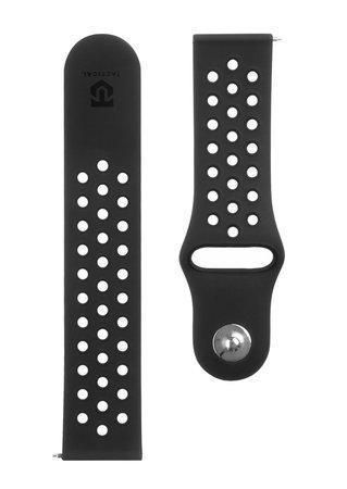 Tactical 234 Double Silikonový Řemínek pro Samsung Gear S3 Black (EU Blister)