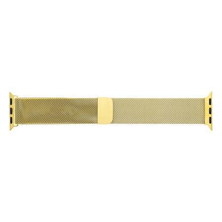 Tactical 361 Loop Magnetický Kovový Řemínek pro Samsung Grear 42mm Gold (EU Blister)