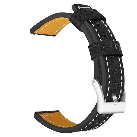 Tactical 042 Color Kožený Řemínek pro Samsung Gear 42mm Black (EU Blister)