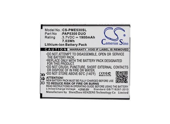 CS-PME530SL Baterie 1900mAh Li-ion pro Prestigio MultiPhone 5300 Duo