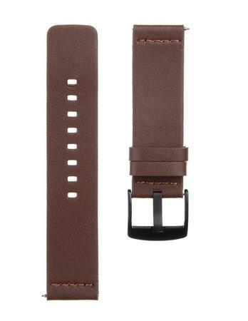 Tactical 308 Kožený Řemínek pro Huawei Watch GT Brown (EU Blister)