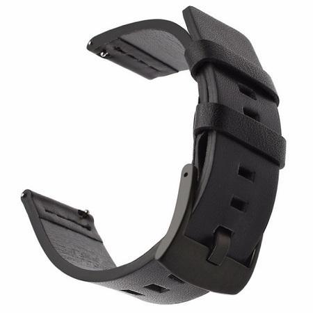 Tactical 305 Kožený Řemínek pro Garmin Vivoactive 3 Black (EU Blister)