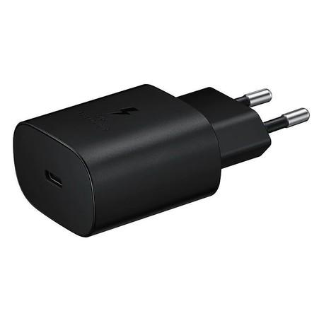 EP-TA800EBE Samsung USB-C Cestovní nabíječka Black (OOB Bulk)
