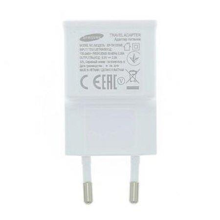 EP-TA20EWE Samsung USB Cestovní nabíječka White (Service Pack)