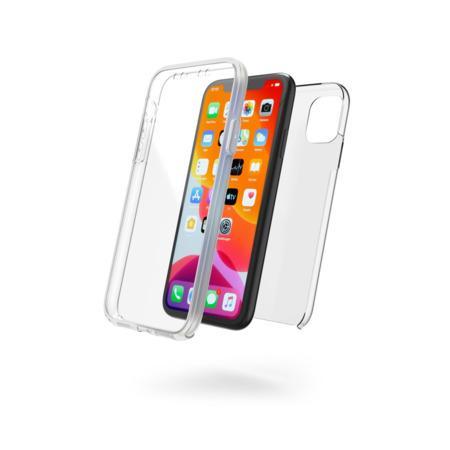 Hama 360 ° ochranný kryt pro Apple iPhone 11, 2-dílný, průhledný