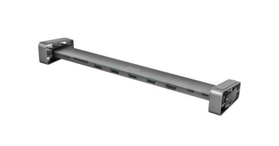 Trust Dalyx Aluminium 10-in-1 USB-C Multi-port Dock 23417, 23417