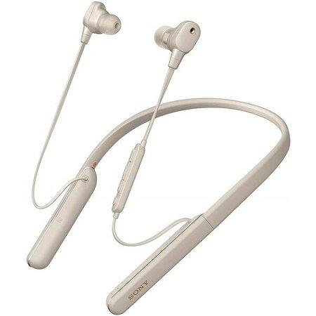 Sony WI1000XM2 bezdrátová sluchátka do uší s týlním mostem stříbrná