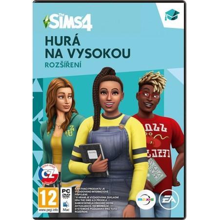 PC The Sims 4 EP8 Hurá na vysokou