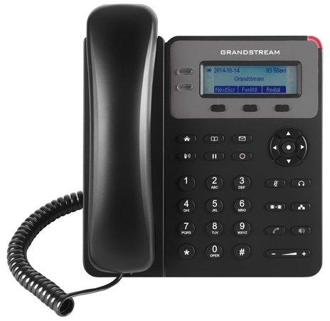 Grandstream GXP1615 [VoIP telefon - 1x SIP účet, HD audio, 3 program.tlačítka, switch 2xLAN 10/100Mbps, PoE], GXP1615