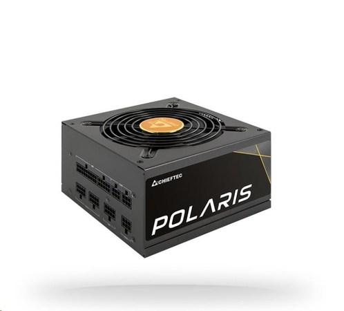 CHIEFTEC zdroj Polaris Series, PPS-550FC, 550W, ATX-12V V.2.4, PS2, 12cm fan, Active PFC, Modular, 80+ Gold, PPS-550FC