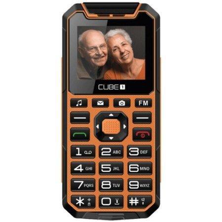 CUBE1 S400 Senior oranžový