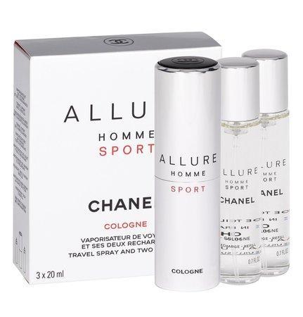 Kolínská voda Chanel - Allure Homme Sport Cologne , 3x20ml