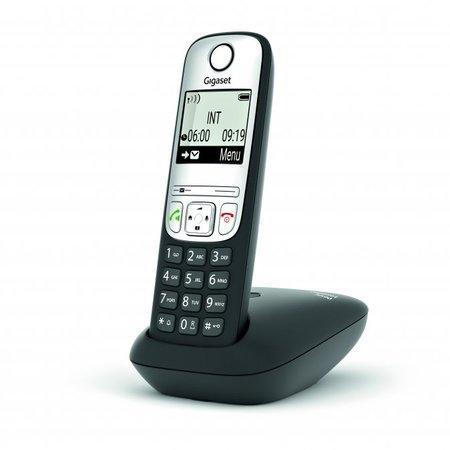 SIEMENS Gigaset A690 - DECT/GAP bezdrátový telefon, barva černá, GIGASET-A690