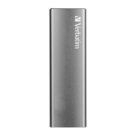 Verbatim SSD externí disk Vx500, USB 3.1 gen2, šedý, 240GB