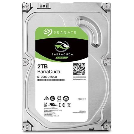"Seagate BarraCuda 2TB, 3,5"", SATAIII, 7200rpm, ST2000DM008"