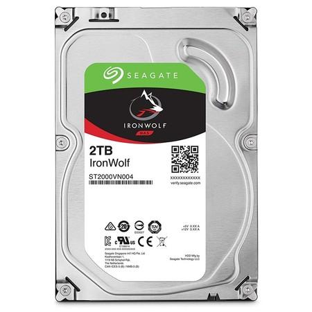 "Seagate IronWolf 2TB HDD / ST2000VN004 / Interní 3,5"" / 5900 rpm / SATA 6Gb/s / 64 MB, ST2000VN004"