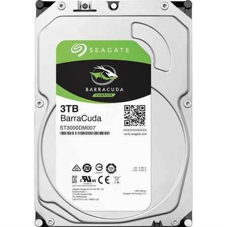 "Seagate BarraCuda 3TB HDD / ST3000DM007 / Interní 3,5"" / 7200 rpm / SATA 6Gb/s / 256MB"