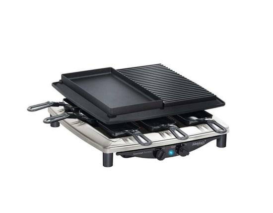 Raclette gril Steba RC 4 Plus Deluxe Chrome