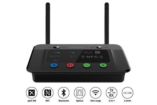 EVOLVEO AudioConverter XS, DAC s Bluetooth Vysílačem a Přijímačem 2v1, ACXS-DAC-BT