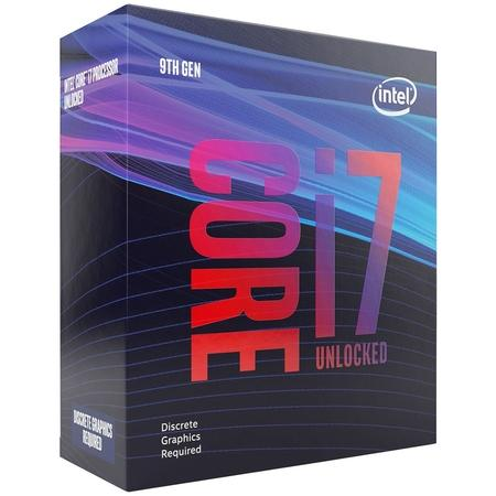 INTEL cpu CORE i7-9700F 1151v2 Coffee Lake BOX 65W 9.generace (3.0GHz turbo 4.7GHz, 8x jádro, 8x vlákno, 12MB cache, pro DDR4 do 2666, bez grafiky) virtualizace, BX80684I79700F