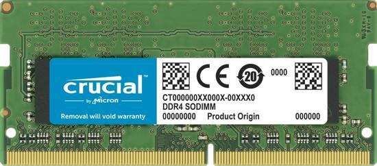 Crucial DDR4 32GB SODIMM 3200MHz CL22, CT32G4SFD832A