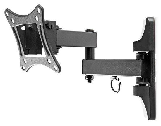 """NEDIS nástěnný držák pro LCD a TV/ 13 - 27 """"/ nosnost 15 kg/ náklon ± 20°/ otáčení 180°/ kloubový (3 klouby)"""