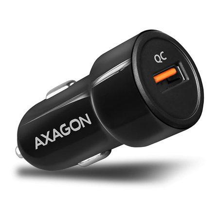 AXAGON PWC-QC, QUICK nabíječka do auta, 1x port QC3.0/AFC/FCP/PE+/SMART, 19.5W