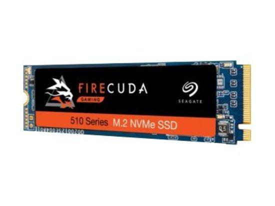 Seagate SSD FireCuda 510 (M.2 2280/500 GB/ PCIe Gen3 x4, NVMe), ZP500GM3A001