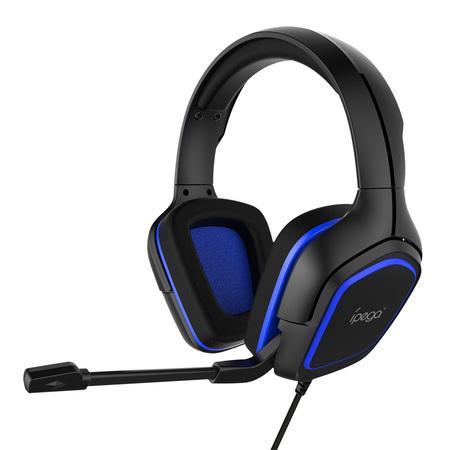 iPega PG-R006 herní sluchátka s mikrofonem modrá