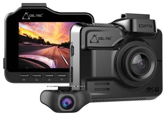 CEL-TEC digitální kamera do auta K4 Dual GPS/ 4K/ 1080p
