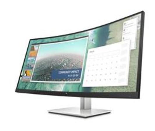 """HP LED LCD E344c 34"""" Wide SVA (3440x1440, 4ms, 400nits, 3000:1,DP, HDMI, USB3.0,2xUSB-C), 6GJ95AA#AB"""