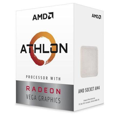 AMD Athlon 3000G (2core,3.5GHz.5MB,socket AM4,35W) Radeon Vega 3 Graphics, Box, YD3000C6FHBOX