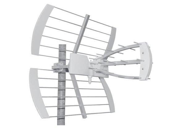 TESLA TE-344 venkovní anténa pro příjem DVB-T2 signálu, 470-790 MHZ, 13 dBi