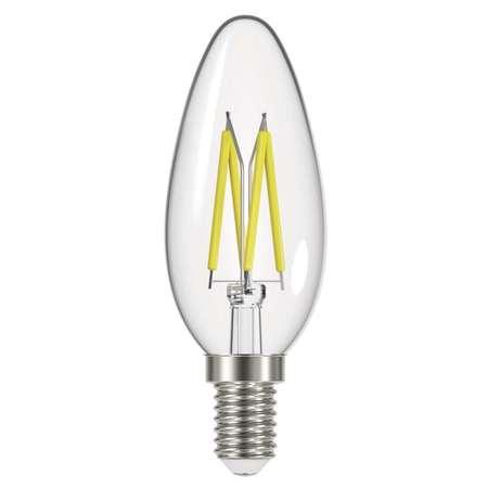 LED žárovka Filament Candle 6W E14 teplá bílá