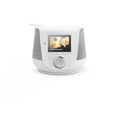 Hama digitální rádio DIR3200SBT, FM/DAB/DAB+/internetové rádio, Bluetooth, bílé