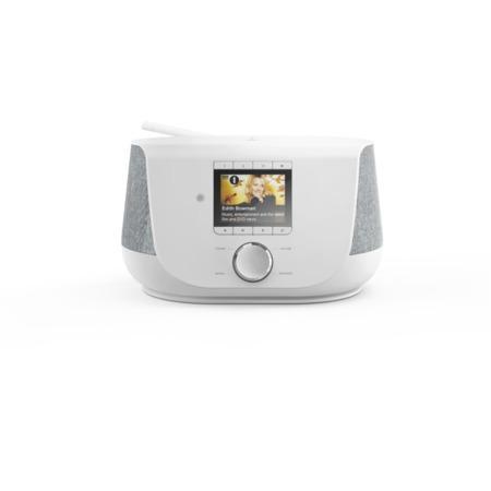 Hama digitální rádio DIR3300SBT, FM/DAB/DAB+/internetové rádio, Bluetooth, bílé