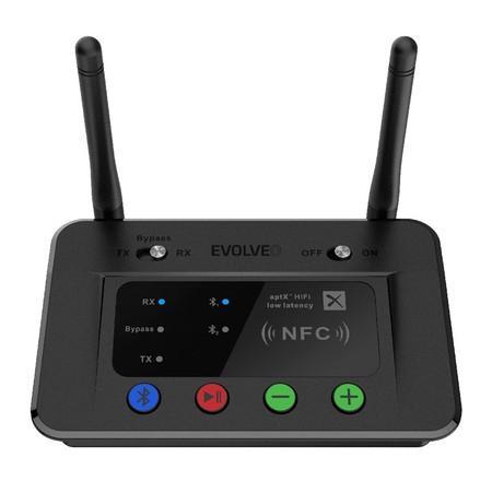 Adaptér Evolveo AudioConverter XS, DAC s Bluetooth vysílačem a přijímačem 2v1,