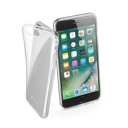 Extratenký zadní kryt CellularLine Fine pro Apple iPhone 7/8, bezbarvý