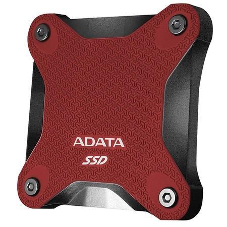 ADATA External SSD 240GB ASD600Q USB 3.1 červená, ASD600Q-240GU31-CRD