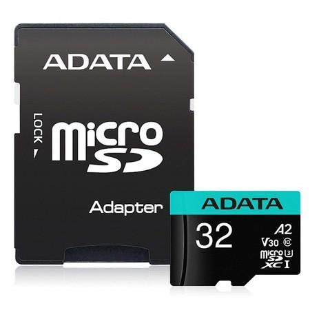 ADATA MicroSDHC 32GB AUSDH32GUI3V30SA2-RA1