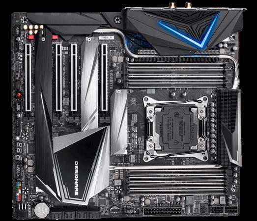 Gigabyte X299X DESIGNARE 10G, DDR4, Dual M.2, USB 3.1 gen 2 Type-A